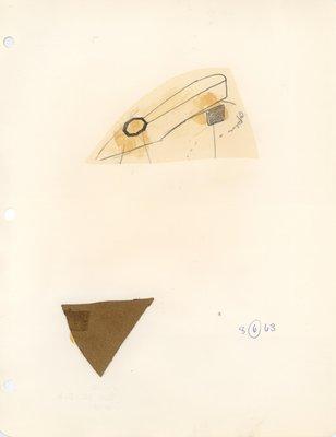 Jerry Miller slingback pump with hexagonal ornament