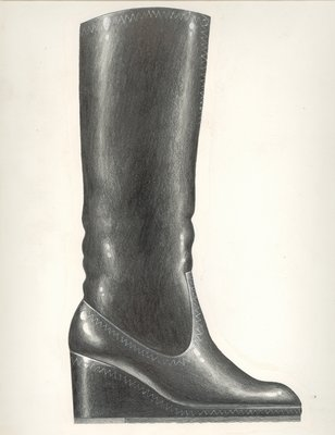 Jerry Miller wedge-heeled boot