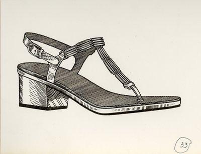 Jerry Miller thong sandal