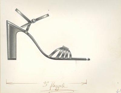 Jerry Miller ankle-strap sandal