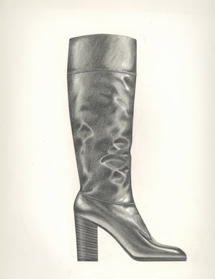 Jerry Miller knee-high boot