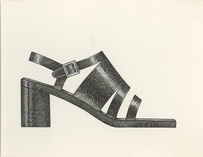 Jerry Miller platform sandal