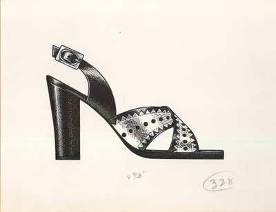Jerry Miller sandal with crossed straps