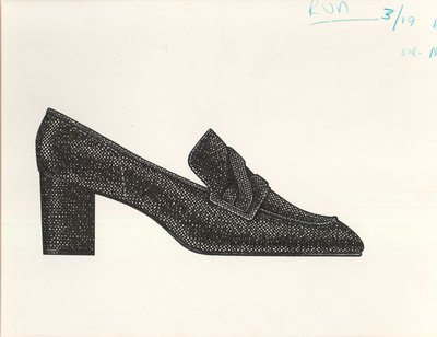 Jerry Miller loafer-style pump
