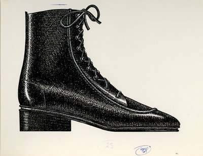 Jerry Miller laced ankle boot