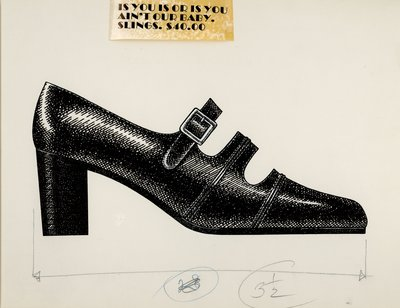 Jerry Miller two strap pump