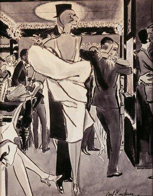 Jazz Club Scene