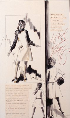 Lord & Taylor Advertisement: Michael Goma Dresses