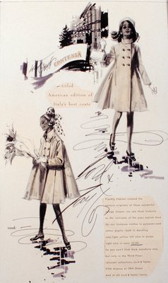 Lord & Taylor Advertisement: Fabiani Swing Coats
