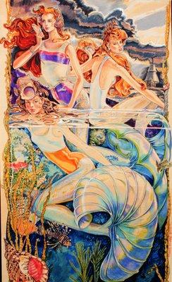 Mermaids in Swimsuits