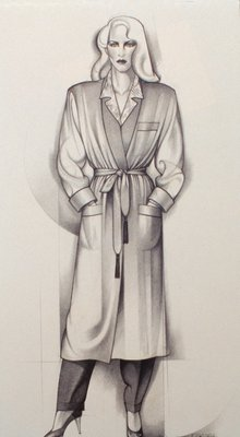 Female Figure in Robe