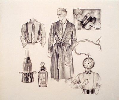 Menswear: Robe, Shirt and Accessories