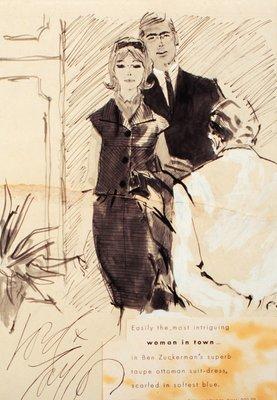 Lord & Taylor Advertisement: Ben Zuckerman Suit Dress