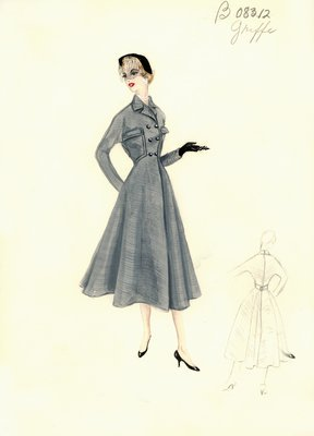 Jacques Griffe gray coat