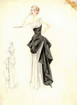 Alix Grès evening dress