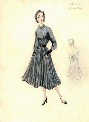 Jacques Heim tweed dress