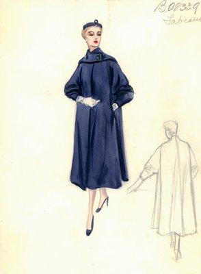 Alberto Fabiani blue coat