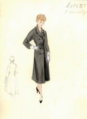 Balenciaga black coat