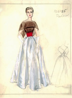 House of Patou evening gown
