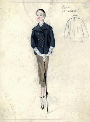 Dior navy blue coat