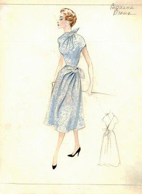 Jean Dessès day dress