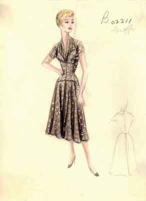 Jacques Griffe day dress