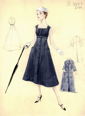 Dior sleeveless dress