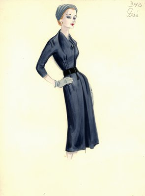 Alix Grès day dress