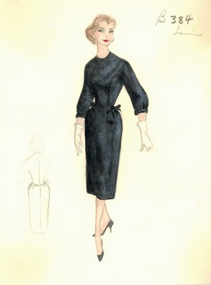 House of Lanvin day dress