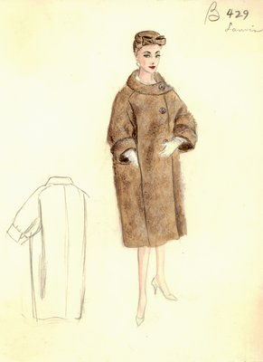 House of Lanvin brown coat