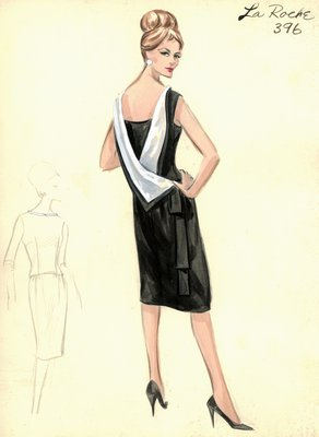 Guy LaRoche cocktail dress