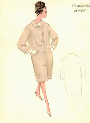Courrèges tan coat