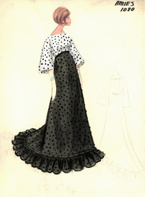 Hardy Amies evening dress