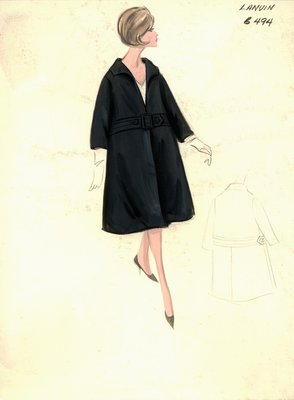 House of Lanvin black coat