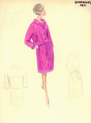 Givenchy pink dress with jacket