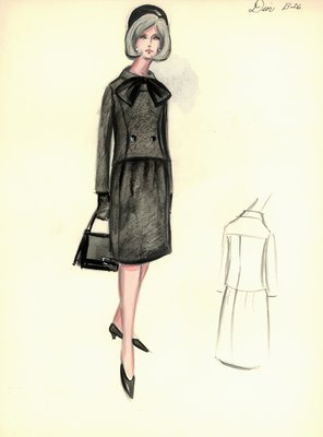 House of Dior black suit