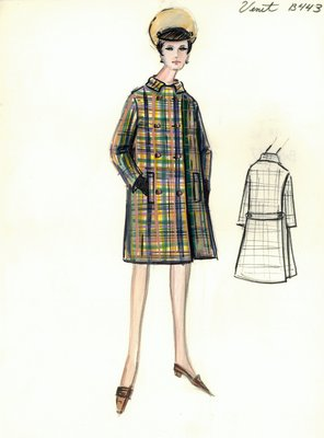 Philippe Venet plaid coat