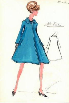 Mr. Eric turquoise coat