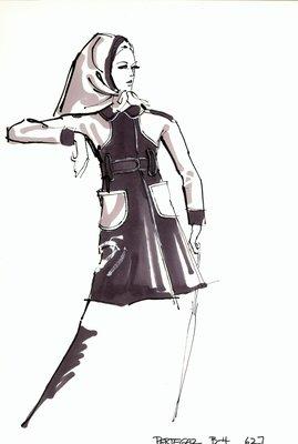 Manuel Pertegaz raincoat