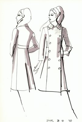House of Dior coat