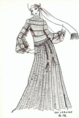 Guy LaRoche evening dress